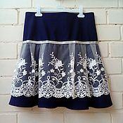 Юбки ручной работы. Ярмарка Мастеров - ручная работа Женская юбка. Handmade.