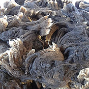 Материалы для творчества handmade. Livemaster - original item Hatred cappuccino/ Wool for felting/spinning. Handmade.