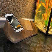Держатели ручной работы. Ярмарка Мастеров - ручная работа Подставка по 2 телефона. Handmade.