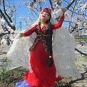 Куклы и игрушки ручной работы. Ярмарка Мастеров - ручная работа Танцующая крымская татарка  Афизе. Handmade.