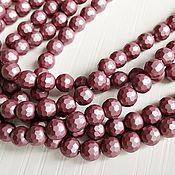 Материалы для творчества handmade. Livemaster - original item Pearl Shell Pearl (similar Mallorca) faceted 6 mm (art. 2699). Handmade.