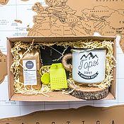 Наборы ручной работы. Ярмарка Мастеров - ручная работа Подарочный набор для путешественника. Handmade.