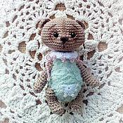 Куклы и игрушки ручной работы. Ярмарка Мастеров - ручная работа Игрушка мишка в стиле тедди Наумчик. Handmade.