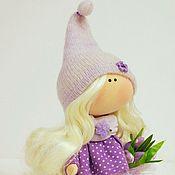 Куклы и игрушки ручной работы. Ярмарка Мастеров - ручная работа Гномочка с тюльпанами. Handmade.