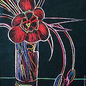 """Картины и панно ручной работы. Ярмарка Мастеров - ручная работа Картина """"Тюльпаны"""". Handmade."""