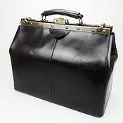 Сумки и аксессуары handmade. Livemaster - original item Men`s leather bag, large bag, travel bag, men`s bag. Handmade.