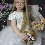 Куклы и игрушки ручной работы. Ярмарка Мастеров - ручная работа Куколка Валюша Коллекционная. Handmade.