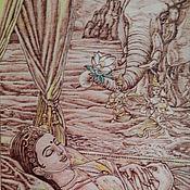 """Картины и панно ручной работы. Ярмарка Мастеров - ручная работа Картина """"Индийские мотивы"""". Handmade."""