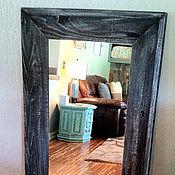 Для дома и интерьера ручной работы. Ярмарка Мастеров - ручная работа Зеркало напольное черное. Handmade.