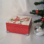 Для дома и интерьера handmade. Livemaster - original item Decoupage Box