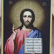 Иконы ручной работы. Ярмарка Мастеров - ручная работа Иконы: Иисус Христос. Handmade.