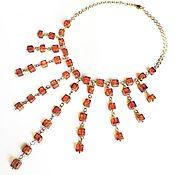 Украшения handmade. Livemaster - original item Necklace from natural amber