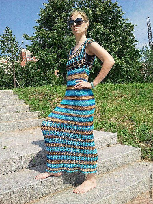 Платья ручной работы. Ярмарка Мастеров - ручная работа. Купить Платье Секрет Клеопатры. Handmade. Платье вязаное крючком, крючок