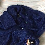 Одежда handmade. Livemaster - original item InAmore oversize jumper knitted from BBB Soft Dream yarn 25g/200m. Handmade.