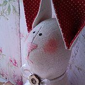 Тильда Зверята ручной работы. Ярмарка Мастеров - ручная работа Пасхальный зайчик. Handmade.