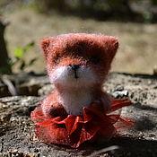Куклы и игрушки ручной работы. Ярмарка Мастеров - ручная работа Валяная игрушка Лисичка. Handmade.