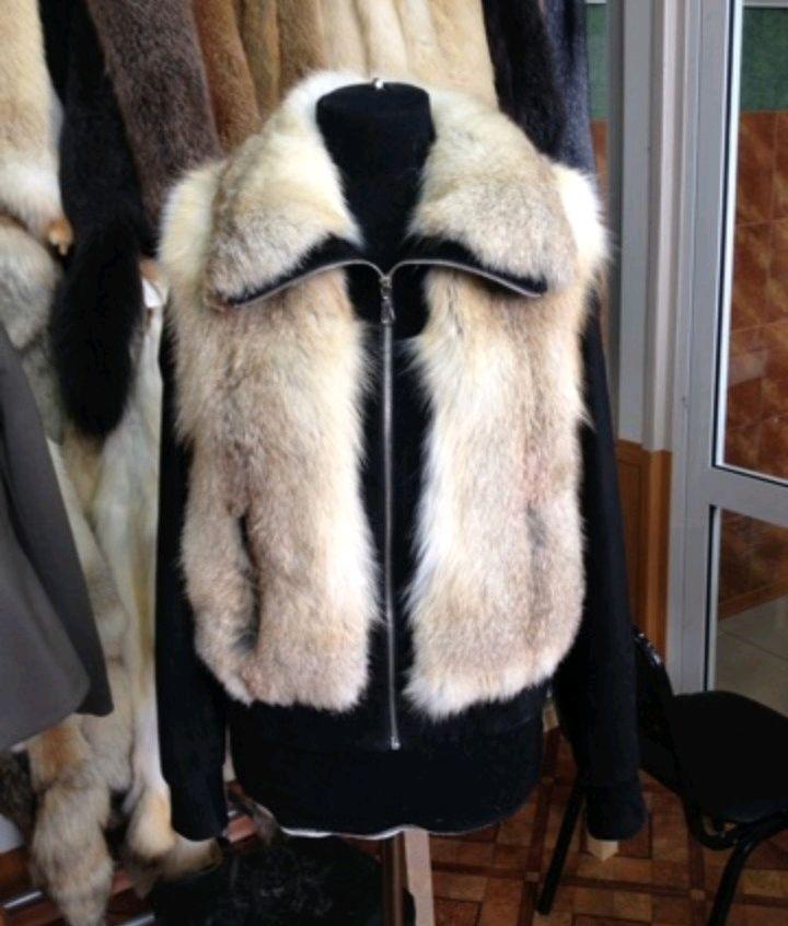Куртка из степных лис, Верхняя одежда, Омск, Фото №1