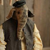 Куклы и игрушки handmade. Livemaster - original item The Elephant Mitrofan. Handmade.