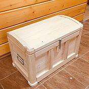 Мебель ручной работы. Ярмарка Мастеров - ручная работа Сундучок деревянный, для детской комнаты. Handmade.