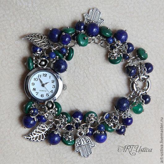 """Часы ручной работы. Ярмарка Мастеров - ручная работа. Купить Часы-браслет """"Сумерки"""". Handmade. Браслет, оригинальный браслет"""