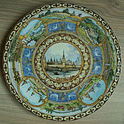 handmade. Livemaster - original item porcelain dish,