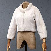 Одежда ручной работы. Ярмарка Мастеров - ручная работа Шубка свадебная жемчуг. Handmade.