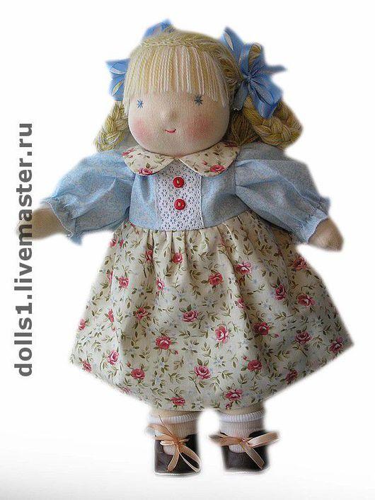 Вальдорфская игрушка ручной работы. Ярмарка Мастеров - ручная работа. Купить Вальдорфская кукла Ася. Handmade. Вальдорфская кукла