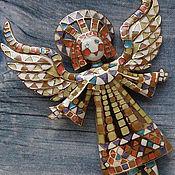 """Винтаж ручной работы. Ярмарка Мастеров - ручная работа Брошь """"Ангел счастья"""" от Bob Mackie. Handmade."""