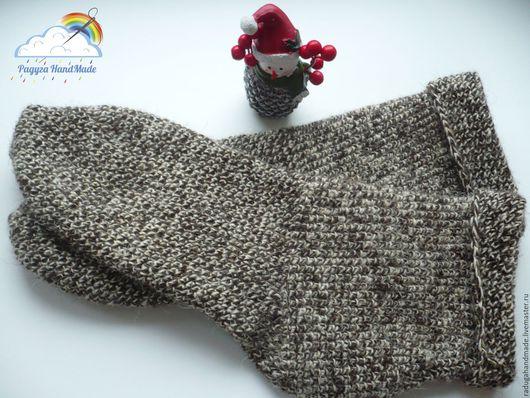 Носки, Чулки ручной работы. Ярмарка Мастеров - ручная работа. Купить Носочки из овечьей шерсти. Handmade. Комбинированный, носки