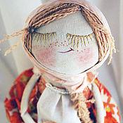 """Подарки к праздникам ручной работы. Ярмарка Мастеров - ручная работа """"Девочка, петушок и медовая бусинка..."""". Handmade."""