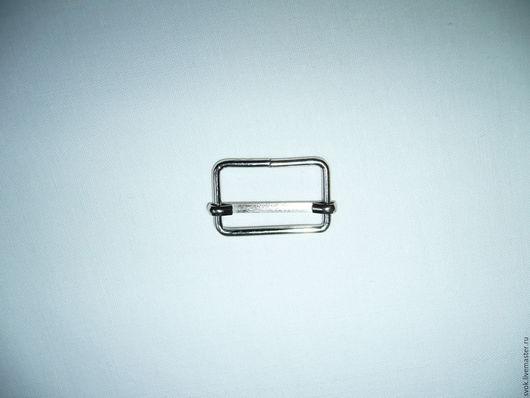 Шитье ручной работы. Ярмарка Мастеров - ручная работа. Купить Пряжка регулирующая, 30 мм, цвет никель, регулятор длины. Handmade.