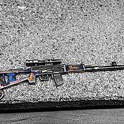 Украшения ручной работы. Ярмарка Мастеров - ручная работа Подвеска из серебра 925 винтовка СВД ручная работа. Handmade.