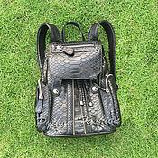 Сумки и аксессуары handmade. Livemaster - original item Backpack Python-CINDERELLA. Handmade.
