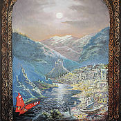 Картины и панно handmade. Livemaster - original item Oil painting Home! Home! 65h50. Handmade.