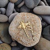 Украшения ручной работы. Ярмарка Мастеров - ручная работа Gold season ( Bee & Leaf). Handmade.