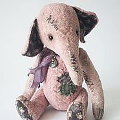 Куклы и игрушки ручной работы. Ярмарка Мастеров - ручная работа Лавандовый слон. Handmade.