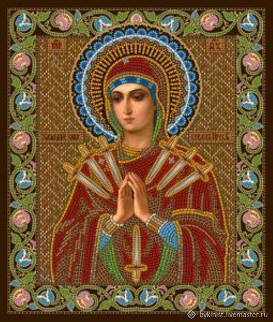 """Божией Матери """"Умягчение злых сердец, Схемы для вышивки, Щелково,  Фото №1"""