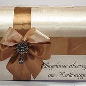 """Свадебный салон ручной работы. Ярмарка Мастеров - ручная работа Свадебная казна """"Шоколадная"""". Handmade."""