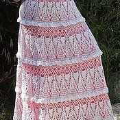 Одежда ручной работы. Ярмарка Мастеров - ручная работа Летняя вязанная юбка. Handmade.