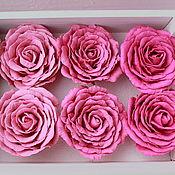 Работы для детей, ручной работы. Ярмарка Мастеров - ручная работа Резинки, зажимы для волос или броши с розой. Handmade.