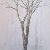 Картины и панно ручной работы. Ярмарка Мастеров - ручная работа Весна, дуб в парке. Handmade.