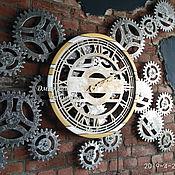 Для дома и интерьера handmade. Livemaster - original item Large wall clock
