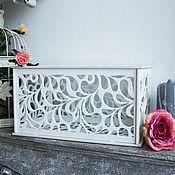 Свадебный салон ручной работы. Ярмарка Мастеров - ручная работа Свадебный сундучок из дерева. Handmade.