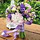 Букеты ручной работы. Ярмарка Мастеров - ручная работа. Купить Букет невесты с розами и пионами из полимерной глины. Handmade. Белый