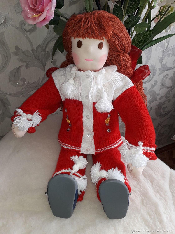 Вальдорфская кукла Валюша (65см), Вальдорфская игрушка, Киржач, Фото №1