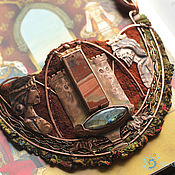 """Украшения ручной работы. Ярмарка Мастеров - ручная работа """"The Divine Hosts of Camelot"""" колье медное. Handmade."""