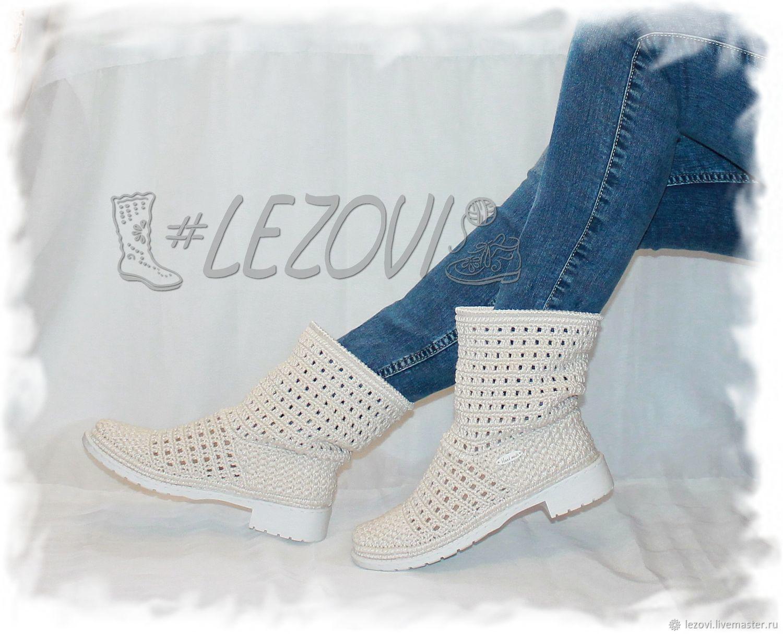 Copy of Copy of Copy of Copy of Summer Boots (Pineapple), Ankle boot, Serpukhov,  Фото №1
