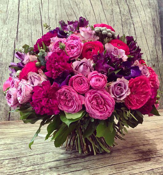 """Букеты ручной работы. Ярмарка Мастеров - ручная работа. Купить Букет """"Вальс цветов"""". Handmade. Красивый букет, букет невесты"""