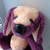 Собака мягкая игрушка из искусственного меха