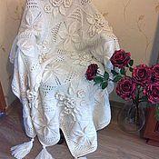 Для дома и интерьера ручной работы. Ярмарка Мастеров - ручная работа Плед Афган. Handmade.